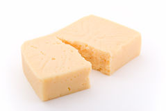 Crack cheese Royalty Free Stock Image