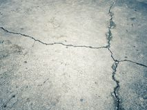Crack concrete. Background and dirty. photo intended : retro tone,black border,contrast Stock Photos