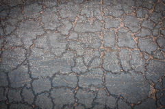 Crack concrete road texture Royalty Free Stock Image