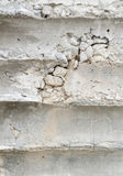 Crack concrete wall Stock Photo