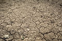 Crack dry ground. Crack dry background, concept drought Royalty Free Stock Photos