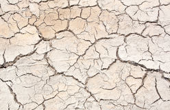 Crack in the earth climate Royalty Free Stock Photography