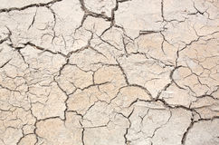 Crack in the earth climate Stock Photography