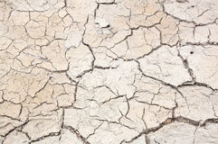 The crack in the earth climate Stock Photography
