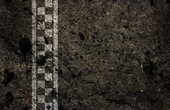 Crack finish line racing background. Crack finish line racing background the construction industry decorative additions Stock Photo