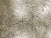 Crack floor stock images