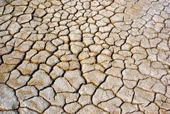 Crack Ground California Drought Royalty Free Stock Photo
