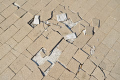 Crack ground made Royalty Free Stock Image
