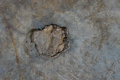 Crack grunge concrete floor abstract background. Stock Photography