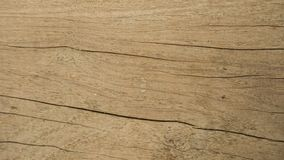 The brown wood texture with the crack stock photo
