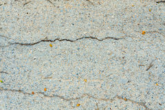 Crack old asphalt road Stock Photos