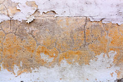 Crack old brick wall background Royalty Free Stock Images
