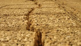Crack in the old south building stock footage