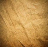 Crack paper texture,brown paper sheet. Royalty Free Stock Images