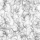 Crack pattern. This texture can be used independently, or be used as background for your design Stock Photo