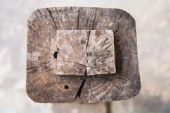 Crack pattern on wood Royalty Free Stock Image