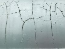 Crack and peeling paint on car , close up concept royalty free stock photos