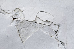 Crack in plaster Royalty Free Stock Photo