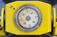 Crack Satellite Compass. Royalty Free Stock Image