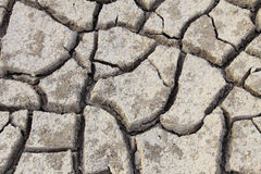 Crack of soil Stock Photo