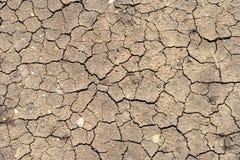 Crack soil Stock Photo