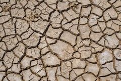 Crack Soil On Dry Season, Global Warming / Cracked Dried Mud / D Royalty Free Stock Images