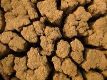 Crack soil. In the summer season Stock Images