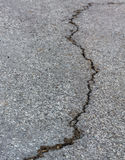 Crack of street Royalty Free Stock Image