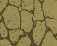 Crack texture of dry earth Stock Image