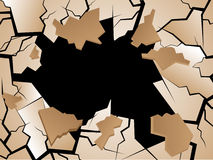 Crack Vector Stock Photography