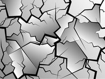 Crack Vector Stock Image