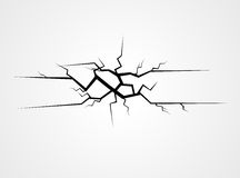 Crack Vector Stock Photo