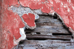 Crack on a wall Royalty Free Stock Images
