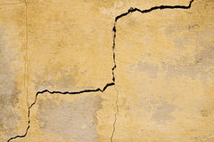 Crack in wall Royalty Free Stock Photo
