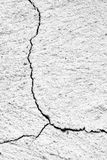 Crack in the wall Stock Images