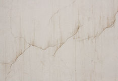 Crack on a wall, a background Stock Photos