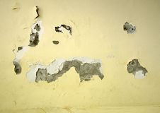 Crack in the wall Royalty Free Stock Photos