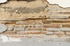 Crack in the wall Stock Photos