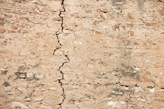 Crack in the wall Royalty Free Stock Photography