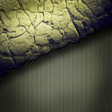 Crack wall template background Stock Photos