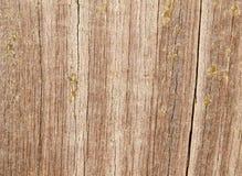 Cracked aged wood Stock Photography