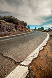 Cracked asphalt Royalty Free Stock Photo