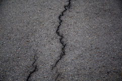 Cracked asphalt Royalty Free Stock Photography