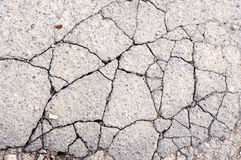 Cracked Asphalt Texture Stock Images