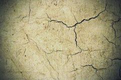 cracked bakgrundscement Arkivbilder