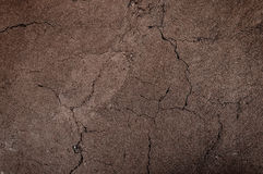 Cracked and barren ground,dry soil textured background Stock Photography
