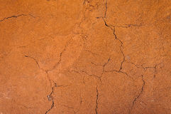 Cracked and barren ground,dry soil textured background,form of soil layers,its colour and textures Royalty Free Stock Photos