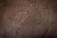 Cracked and barren ground,dry soil textured background,form of soil layers Royalty Free Stock Image