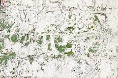 Cracked beige, green paint Royalty Free Stock Image