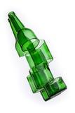 Cracked bottle Royalty Free Stock Image